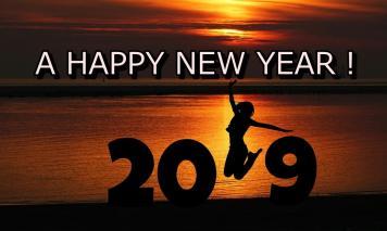 新年あけましておめでとうございます。2019年は新サービスも展開していきます!