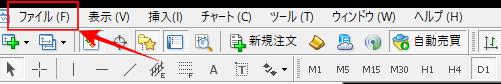 MT4ファイルフォルダ Experst MQL4