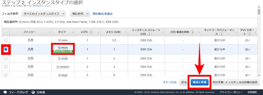 Amazon AWS サービス選択③