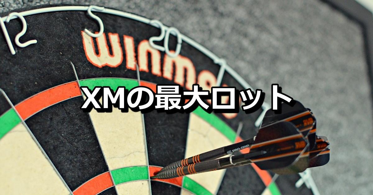 XMの最大取引単位(ロット)は?口座タイプ(スタンダード、マイクロ、ZERO)別に解説!